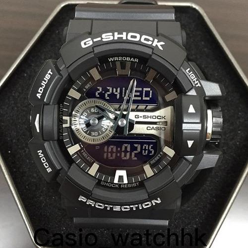 reloj casio g-shock ga 400 - plata 100% original y nuevo zqr