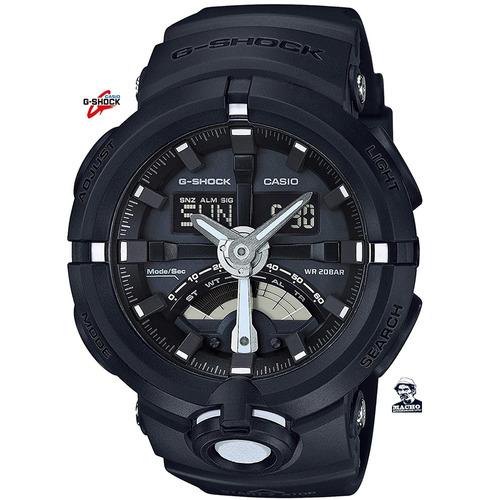 reloj casio g-shock ga-500-1a original + como detectar falso
