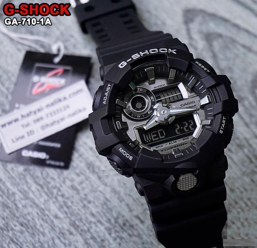 ac8631cab594 reloj casio g-shock ga-710-1a - 100% nuevo y original. Cargando zoom.