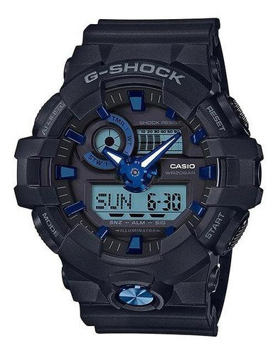 reloj casio g-shock ga-710b-1a2 especial de color