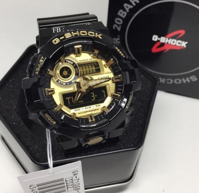 Shock Caja 100Nuevo 1a Ga En Reloj 710gb Casio G LqSVGUjpzM