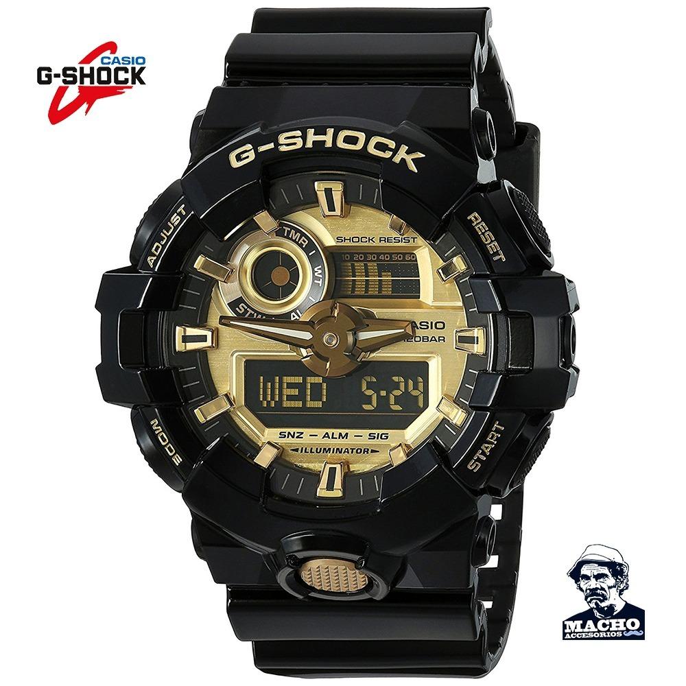 f47d405442fb reloj casio g-shock ga-710gb original + como detectar falsos. Cargando zoom.