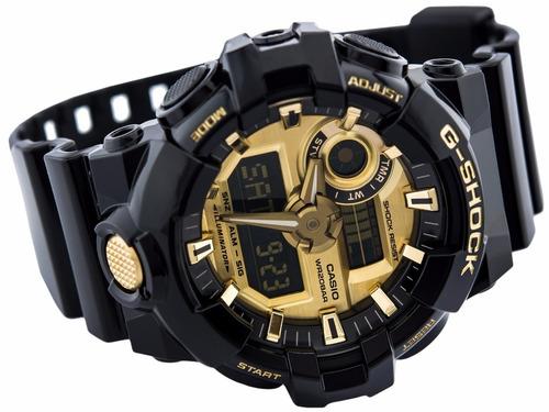 reloj casio g-shock ga-710gb original + como detectar falsos