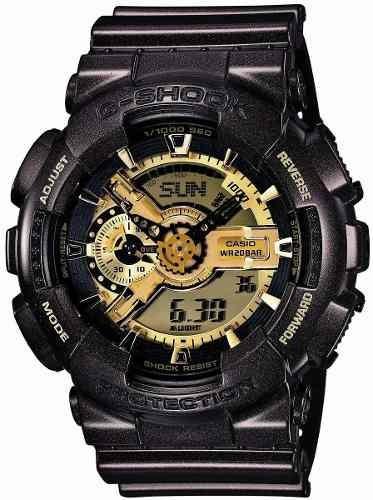 reloj casio g-shock ga negro masculino