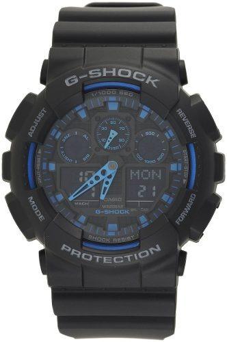 reloj casio g-shock ga100-1a2 masculino