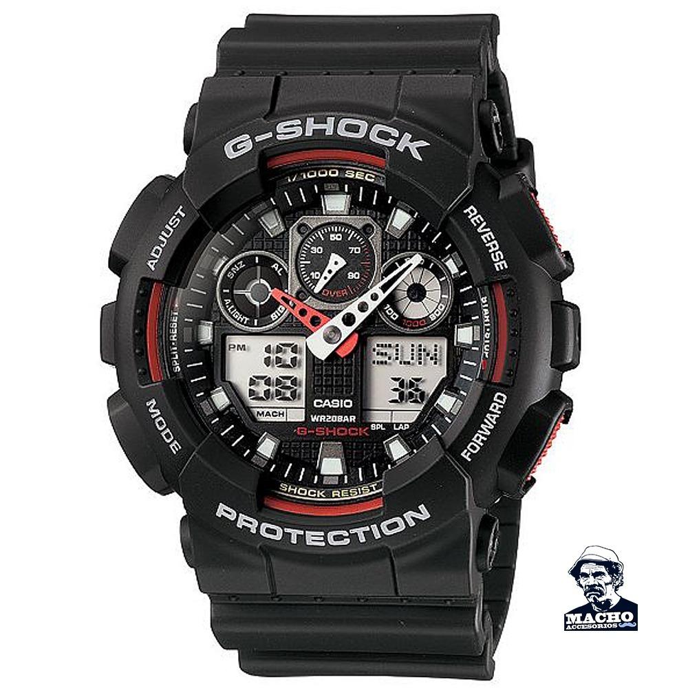 G Shock Ga100 Reloj 1a4 Original Casio Stock Garantia En QrBdshxtC