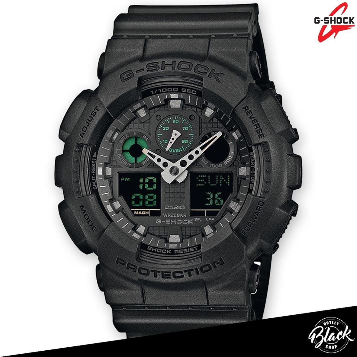 6fd369f709fda reloj casio g-shock ga100 original nuevo en caja. Cargando zoom.