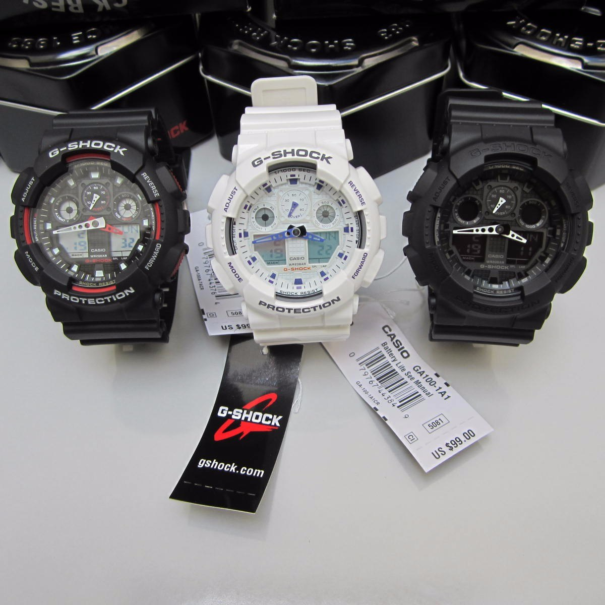 Casio G Shock Relojes Deportivos Para Hombre En Mercado Original Ga 100 1a4 Jam Tangan Pria Resin Black Reloj Ga100 Originales