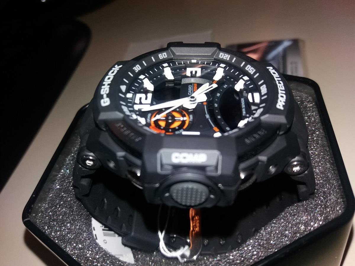 Reloj Casio G Shock Ga1000 1a Gravitymaster Nuevo En Stock Ga 1000 1adr Gravity Master Twin Sensor Cargando Zoom