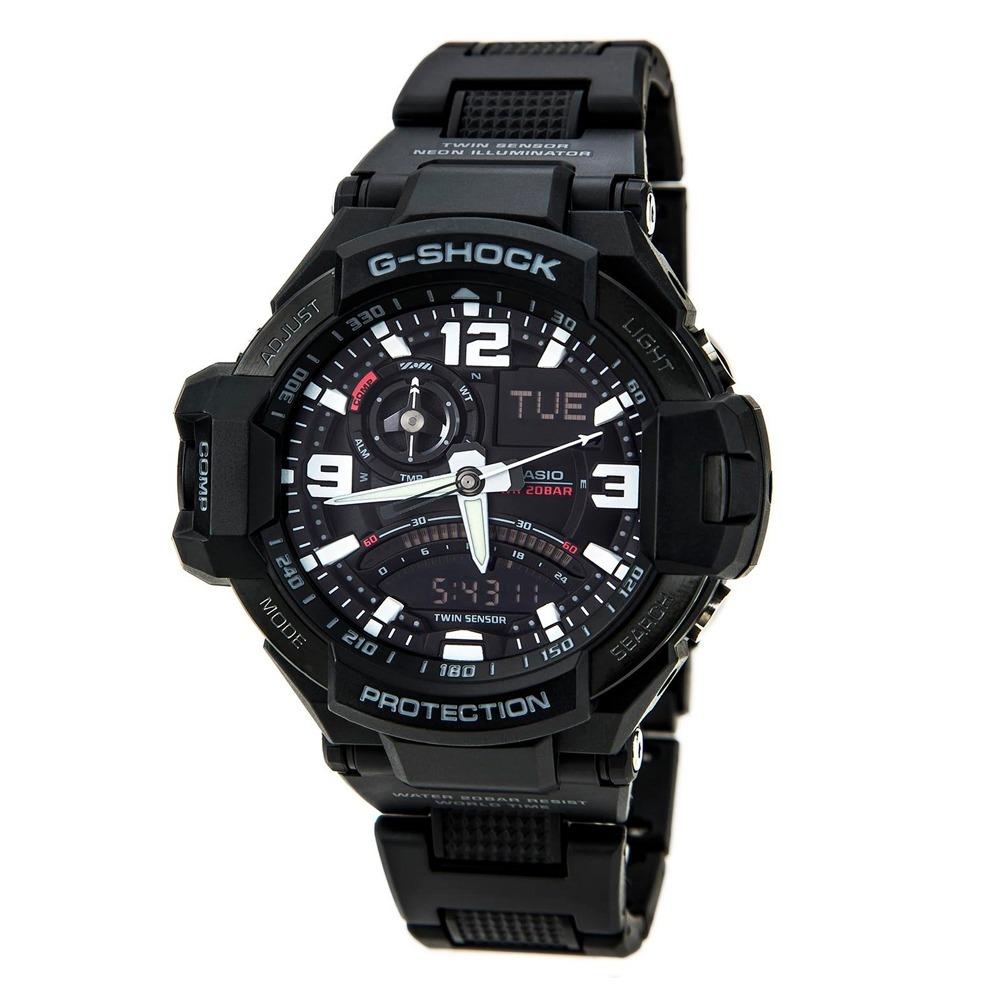 81c9769b5163 Reloj Casio G-shock Ga1000fc-1a G-aviation Brújula Hombre ...