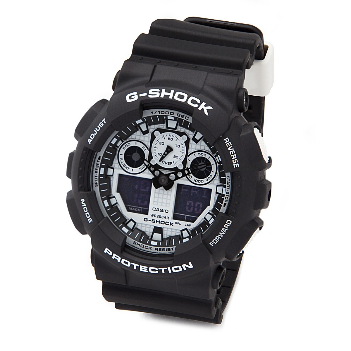 Reloj Casio G shock Ga100bw 1a En Stock Original Garantia