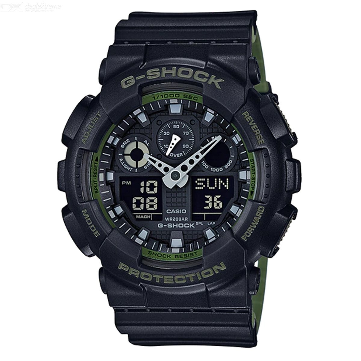 Casio Shock CajaVideo G Reloj En Ga100l Original Nuevo R34jAL5