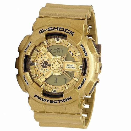 reloj casio g-shock ga110gd-9a masculino
