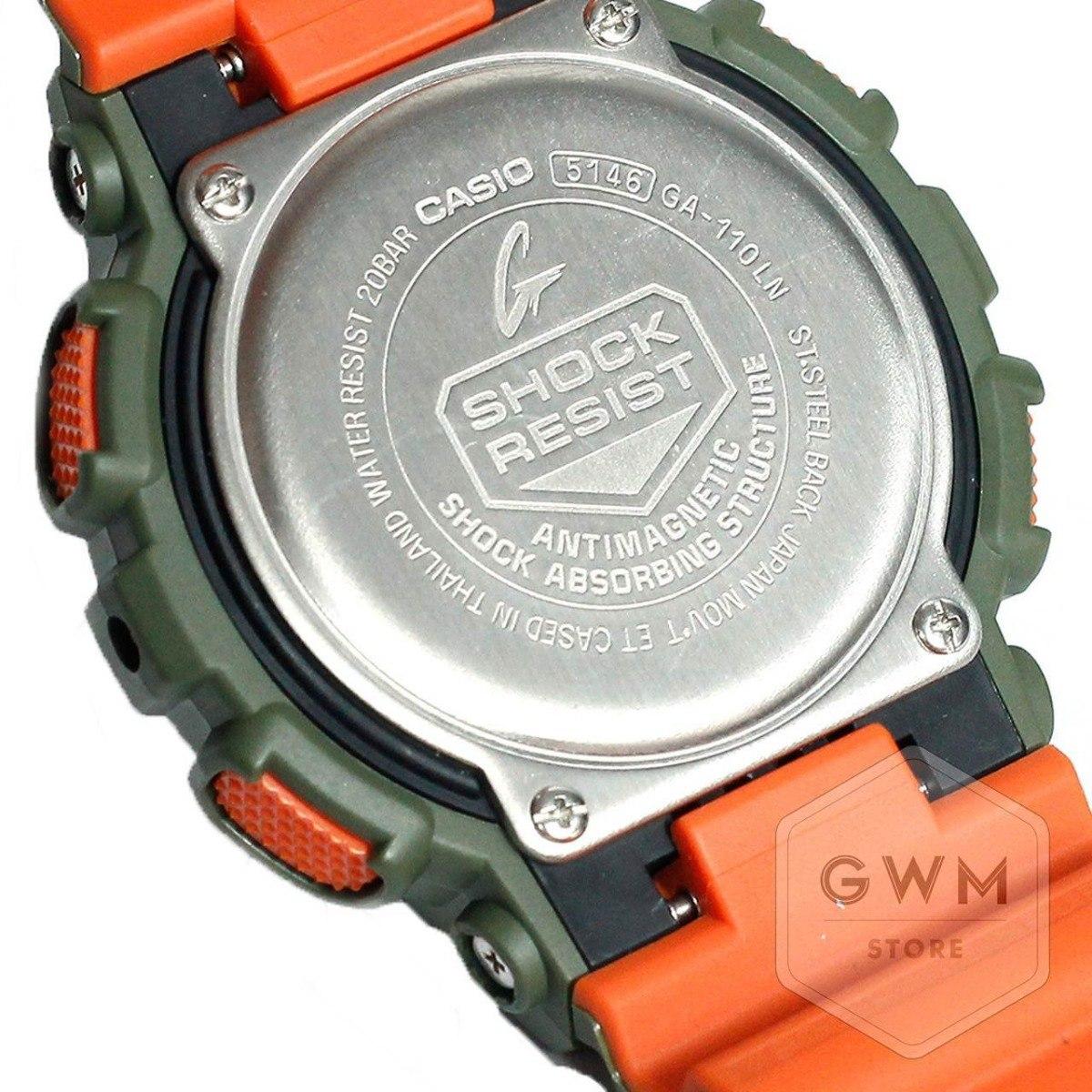 2f13292efa56 reloj casio g-shock ga110ln-3a en stock original y genuino. Cargando zoom.