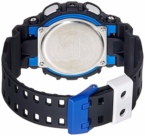 reloj casio g-shock ga120tr 1ad negro rojo original
