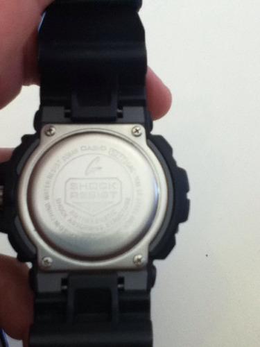 reloj casio g shock gac 100 como nuevo, caja, manuales y fac