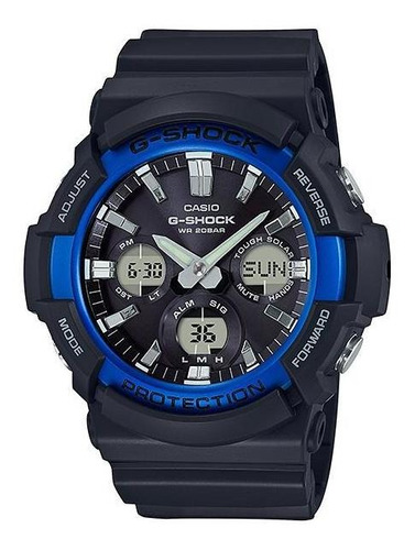 reloj casio g-shock gas-100b-1a2 estandar analogico digital