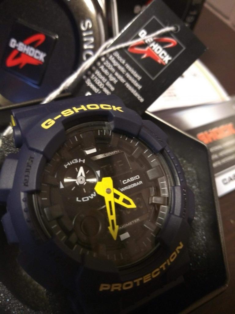 c8b7c9b136f7 reloj casio g-shock gax-100 g-lide 5485 oem aaa water resist. Cargando zoom.