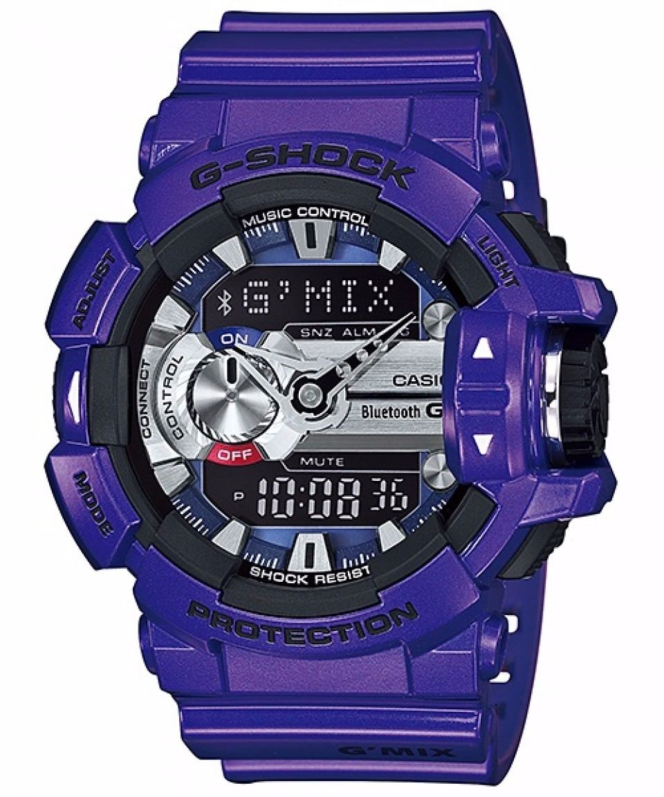 74632bc0da92 reloj casio g shock gba 400 7c bluetooth sumergible blanco. Cargando zoom.