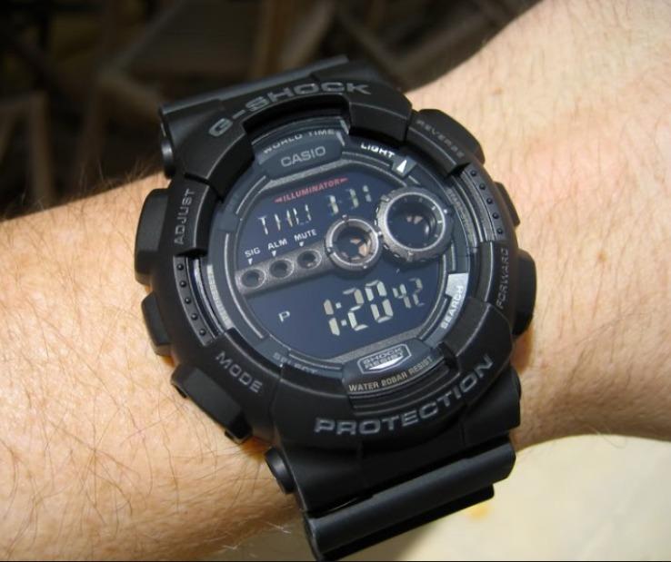 7420cb102 Reloj Casio G-shock Gd-100-1b - 100% Nuevo Y Original - S  369