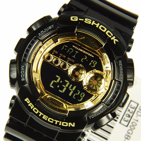 Casio Reloj G Gd 1 Hombre 100gb Negrodorado Shock Digital vNn08wmO