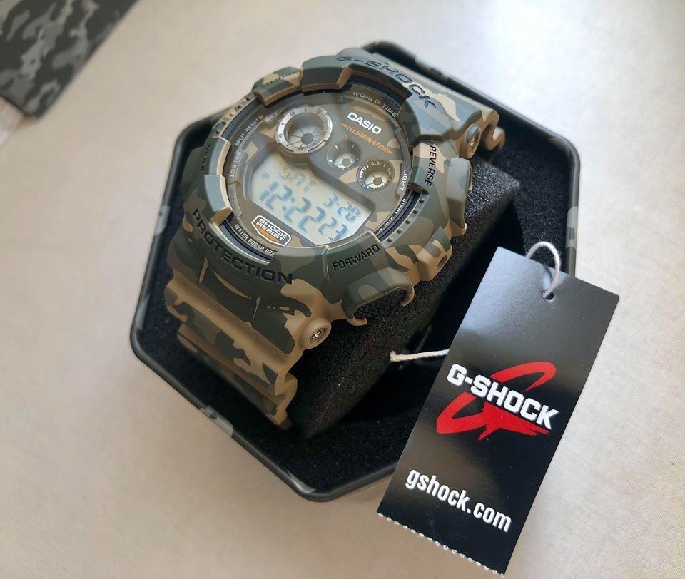 Reloj Casio G Shock Gd 120cm 5cr Camuflado Nuevo En Caja