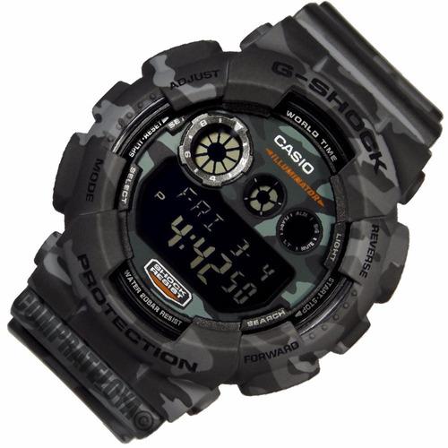 reloj casio g shock  gd-120cm-8  100% original+garantía