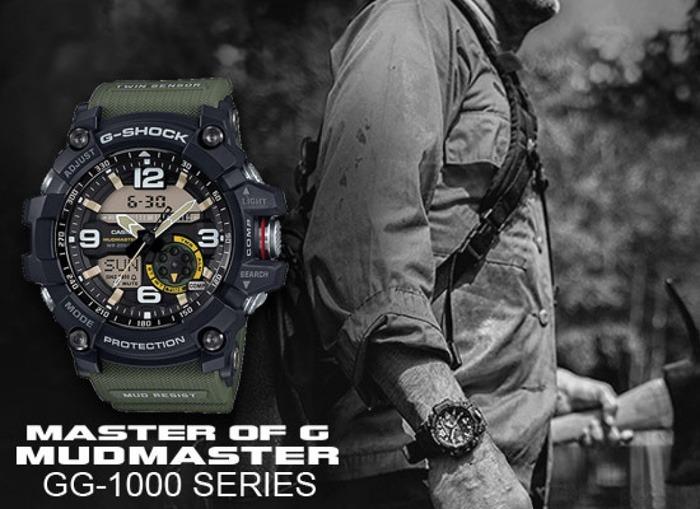 100acac5574af Reloj Casio G-shock Gg-1000-1a3 Dr Mudmaster Twin Sensor -   18.750 ...