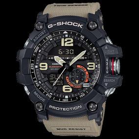 66cce75b2 Casio G Shock Beige Relojes Masculinos - Relojes Pulsera Masculinos ...