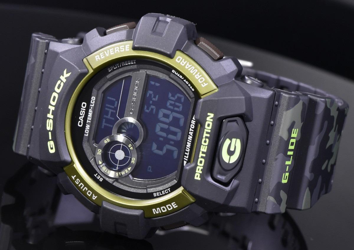 9ff771b8d610 reloj casio g shock gls 8900 camuflaje cristal mineral. Cargando zoom.