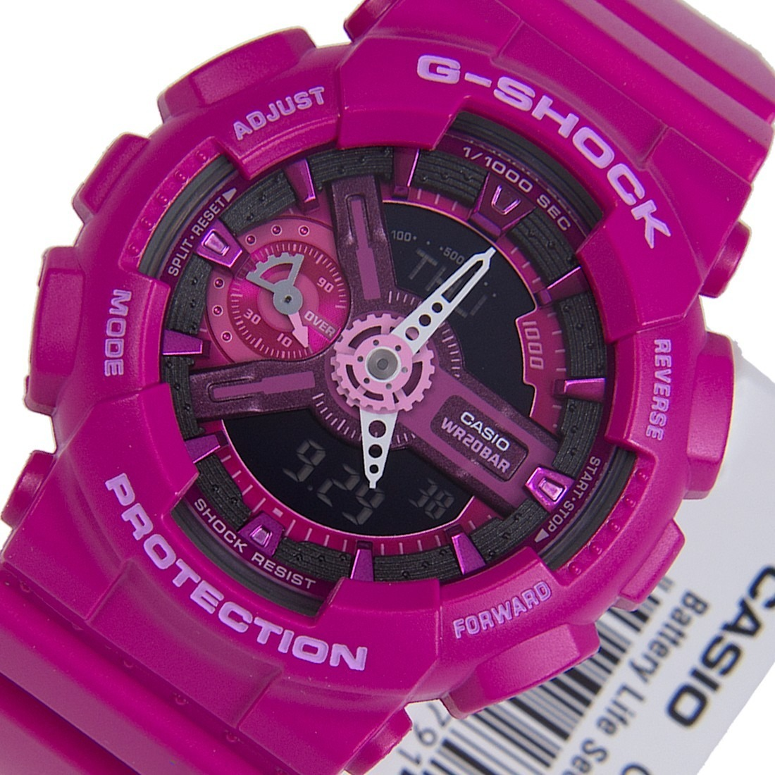 9abd9223e15f Reloj Casio G-shock Gma-s110mp-4a3er Fucsia -   130.000 en Mercado Libre