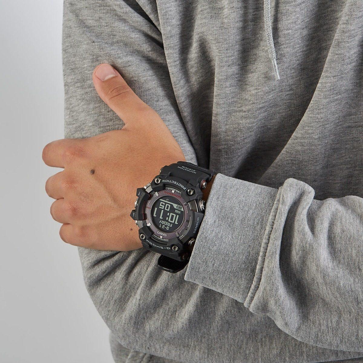 Reloj Casio G Shock Gpr B1000 Gps Bluetooth Brujula Zafiro