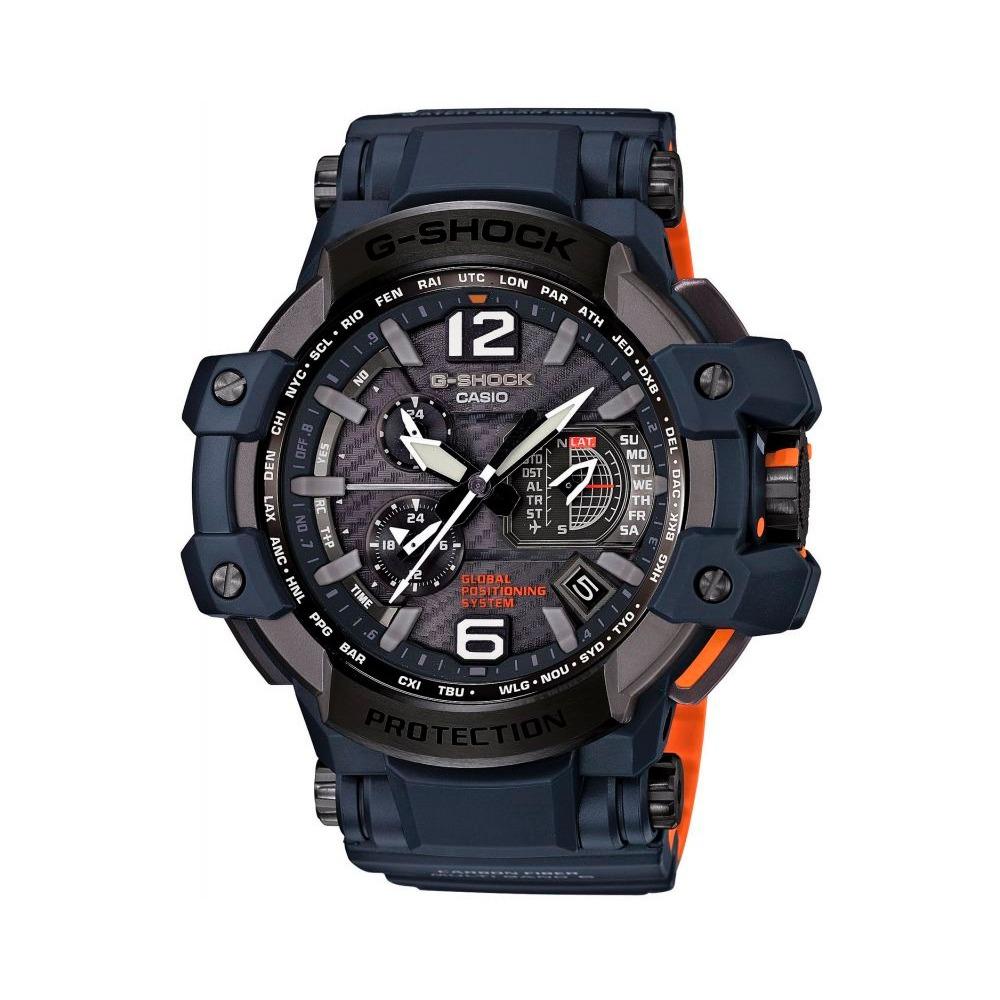 69cf89232fd0 reloj casio g shock gravitymaster gpw-1000-2agps hybrid w. Cargando zoom.