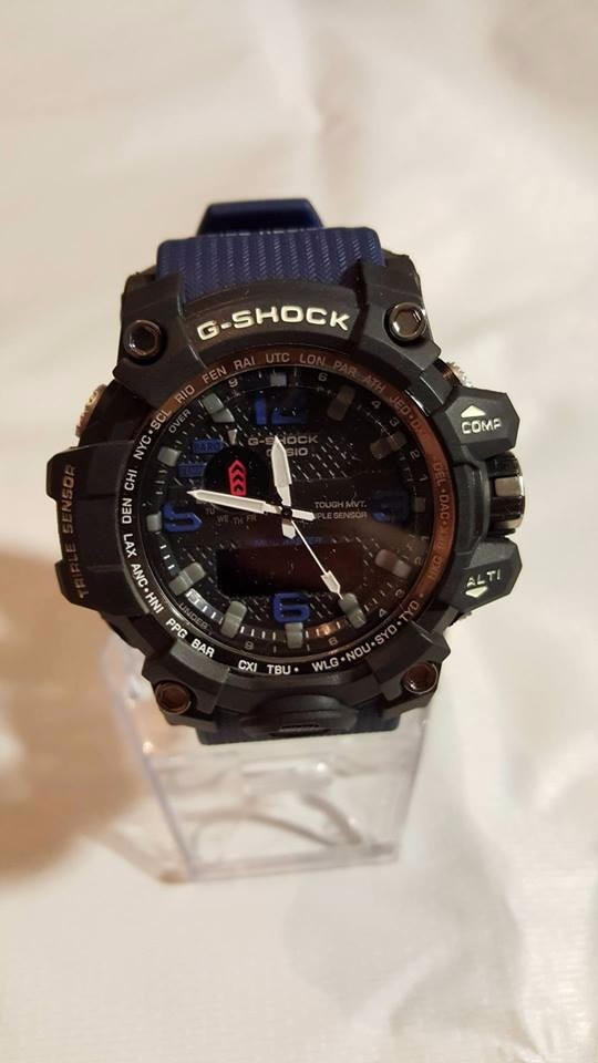 8a5636f0574c reloj casio g-shock gwg-1000-1a3er extensible azul marino. Cargando zoom.
