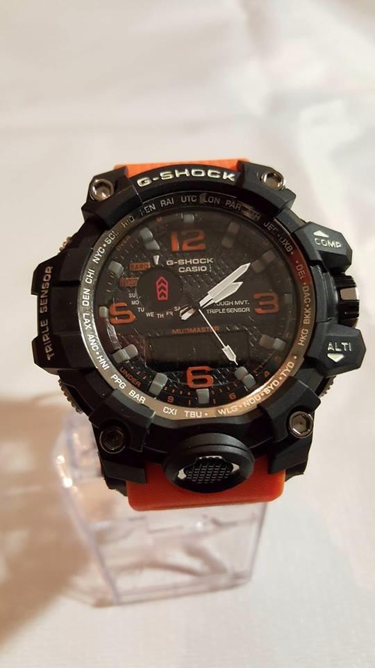 Reloj Casio G Shock Gwg Extensible Naranja 1000 1a3er Aq54RjL3