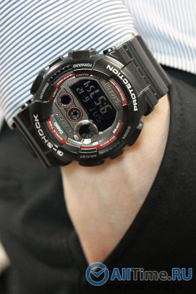 Negro Gd Led Hombre 120ts Shock Casio Reloj G Militar Pk8Xn0wO