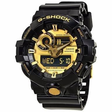 2f1100e84201 Reloj Casio G - Shock Modelo Ga 710 Negro Con Dorado -   3