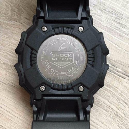 Gx Negro Reloj Modelo 56 G Shock Casio WE9IH2D