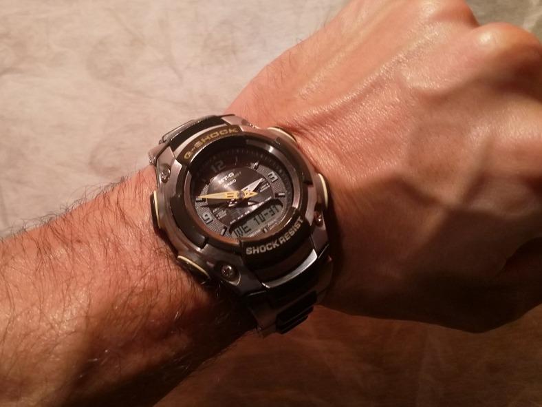 b8cd9cb9320c Reloj Casio G-shock Mtg-500 2349 Japones -   3.500