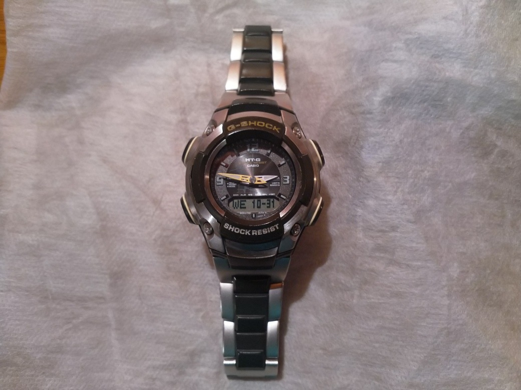 757df1aad5c0 reloj casio g-shock mtg-500 2349 japones. Cargando zoom.