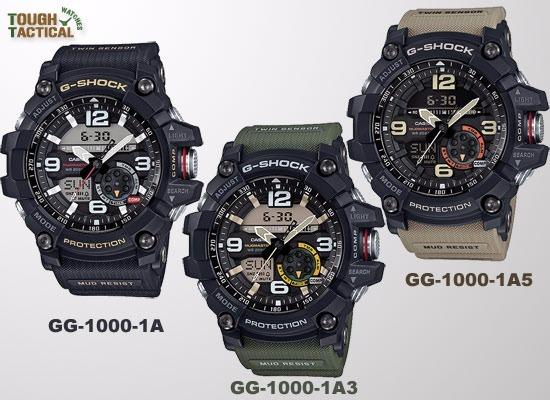 1200c1700ec1 Reloj Casio G-shock Mud-master Gg -1000-1a5 - S  950