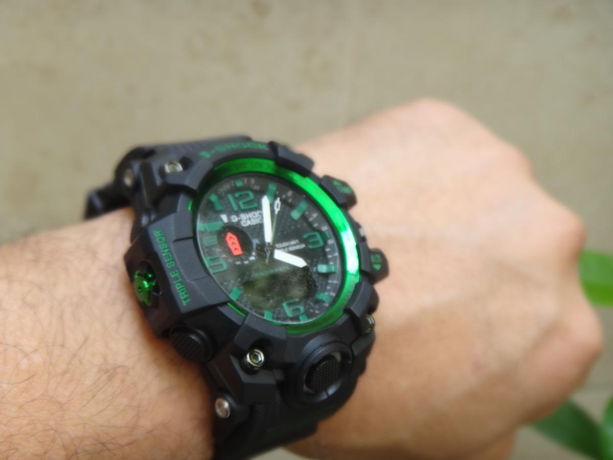 Reloj Casio G Shock Mud Vestir T 225 Ctico Verde Envi 243 Gratis