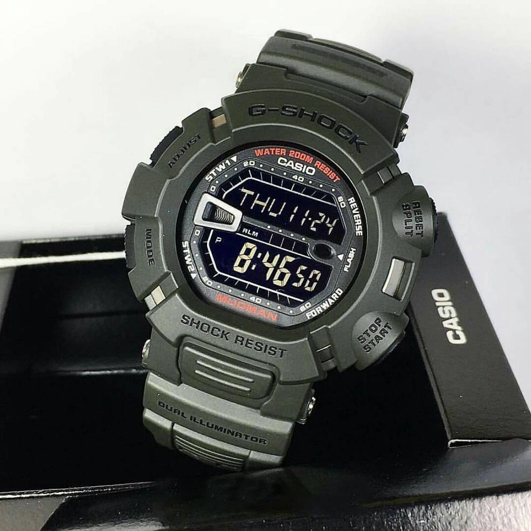 695205a25b26 reloj casio g-shock mudman g9000-3v solo importamos original. Cargando zoom.