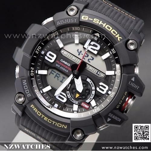 Reloj Casio Original Gg G 1000 Mudmaster Twinsensor 1a Shock wmN0v8n