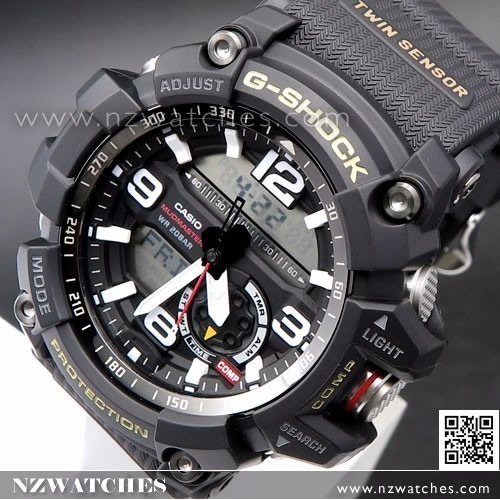 9c7ca98e4 Reloj Casio G-shock Mudmaster Gg-1000-1a Twinsensor Original ...