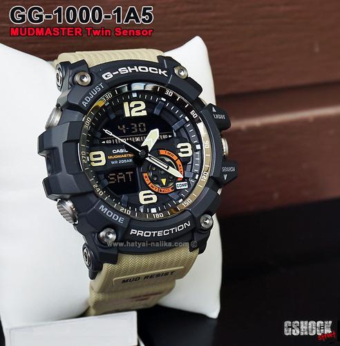reloj casio g-shock mudmaster gg-1000-1a5 - 100% original