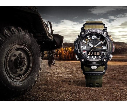 reloj casio g-shock mudmaster gg-b100-1a3