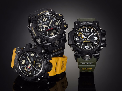 reloj casio g shock mudmaster gwg-1000-1a local belgrano