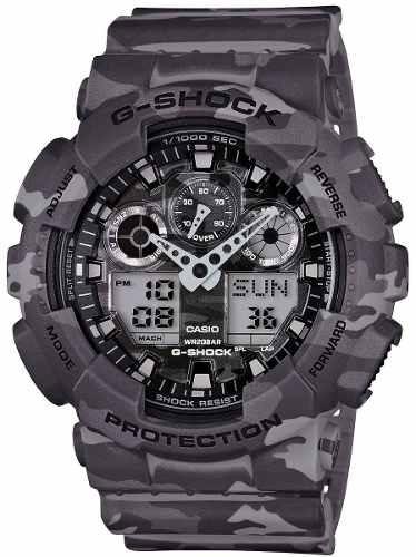 reloj casio g-shock  negro