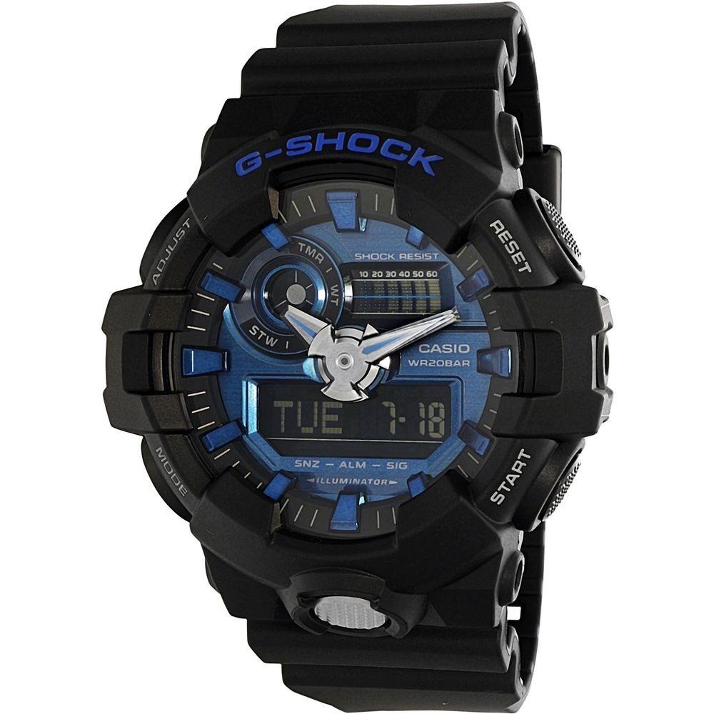 9250978d4fad Reloj Casio G-shock Negro Ga-710-1a2 Para Hombre -   410.900 en Mercado  Libre
